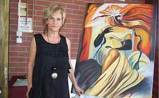 Ressam Kürek Ankara'da Sergi Açacak