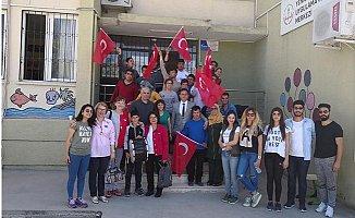 Tarsus Belediyesi'nden Engelli Çocuklara Ziyaret