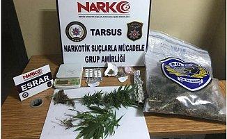 Tarsus'ta 2 Kişi Uyuşturucu Satıcılığından Tutuklandı