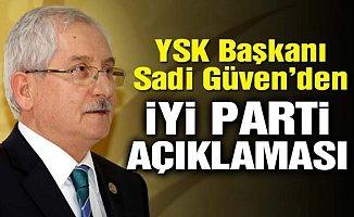 YSK Başkanı'ndan Flaş Seçim Açıklaması