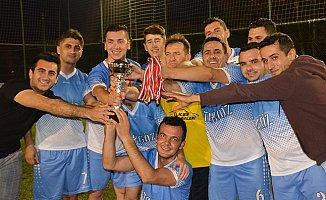 Anamur'da Kurumlararası Futbol Turnuvası Sona Erdi