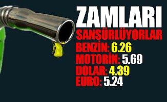 Benzin ve Motorine Zam Üstüne Zam!