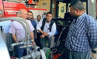 Mersin'de Gönüllü İtfaiyecilik Eğitimleri Devam Ediyor