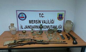 Mersin'de Kaçak Kazı Yapan 1 Kişi Gözaltına Alındı