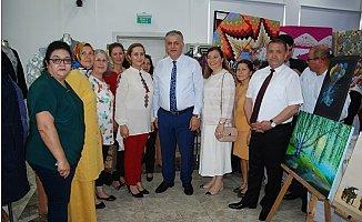 Silifke'de Halk Eğitim Merkezi yıl sonu Sergisini Açtı