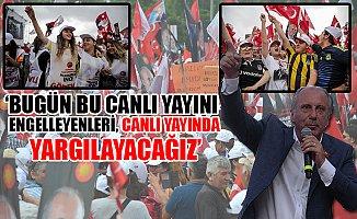 İnce'den Erdoğan'a; 'Bu Son Çırpınışların, Bitmişsin, Bitmiş...'
