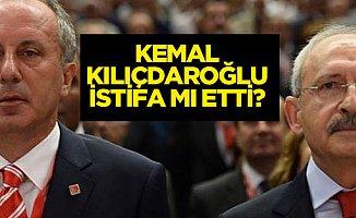 Kılıçdaroğlu'ndan Beklenen İstifa!