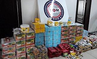 Mersin'de 560 Kilo Kaçak Nargile Tütünü Ele Geçirildi