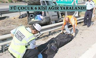 Adana'dan Mersin'e Tatil Geldiler Dönüş İse Ölüm Oldu.