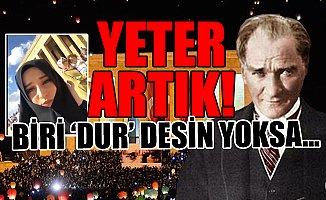 Çarşaflı Kızdan Atatürk'e Skandal Sözler