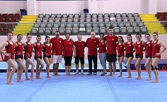 Artistik Cimnastik Milli Takımı Mersin'de Hazırlanıyor