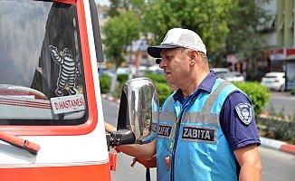 Büyükşehir'in Toplu Taşıma Denetimleri Sürüyor
