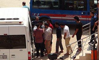 Kurtarılan Göçmenler Mersin İl Göç İdaresi Müdürlüğüne Gönderildi