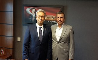 İstemihan Talay CHP Mersin Milletvekillerini TBMM'de Ziyaret Etti.