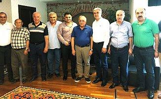 Mahmut Aslan'a Moral Ziyaretleri Sürüyor