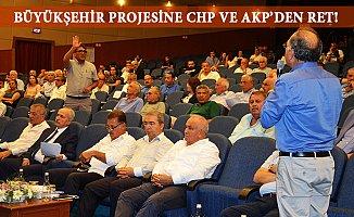 Mersin Büyükşehir Meclisinde Proje Tartışması