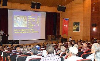 Mersin'de 'Akdeniz Meyve Sineği ve Mücadele' Konferansı