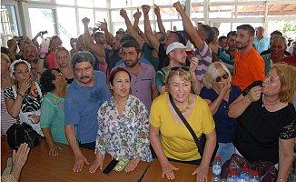 """Mersin'de Balık Çiftliklerine """"Düdüklü"""" Protesto"""