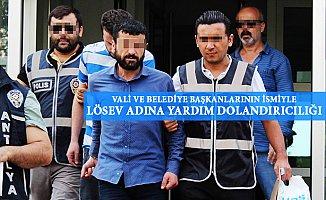Mersin'de Vali'nin Adını Kullanarak Dolandırıcılık Yapanlara Darbe