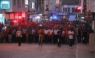 Mut'ta 15 Temmuz Demokrasi ve Milli birlik günü etkinliği