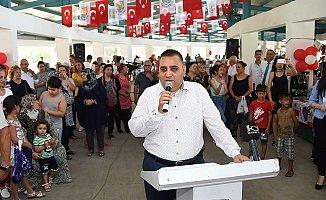 """Tarsus'ta """"Hanımeli Pazarı"""" Açıldı"""