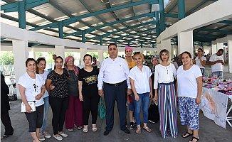 """Tarsus'ta Kadın Girişimcilere """"Hanımeli Pazarı"""""""