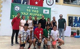Yaz Kupası Tenis Turnuvası'nda Mersin Rüzgarı
