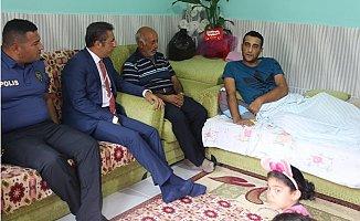 Pamuk'tan Gazi ve Ailesine Ziyaret