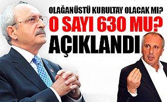 CHP Yönetimi: Kurultay Yok!