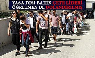Dolandırıcılık Çetesi Lideri Mersin'de Dolandırıldı.