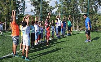 Erdemli'de Yaz Spor Okulları Yaygınlaşıyor