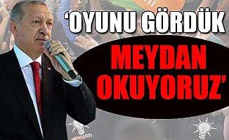 Erdoğan: Yükselişimizi Durduramayacaksınız
