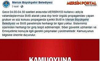 Mersin'de Belediyenin Telefon Numarası İle Terör Propagandası