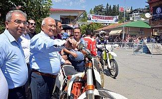 Mersin'de 'Motofest' Gösterileri Nefes Kesti