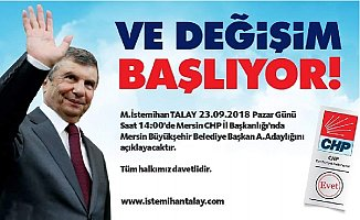 İstemihan Talay Büyükşehir Belediye Başkan A.Adaylığını Yarın Açıklıyor