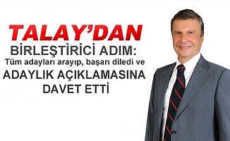 İstemihan Talay'dan Birleştirici Adım...