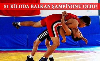 Mersinli Hamza Balkan Şampiyonu Oldu.