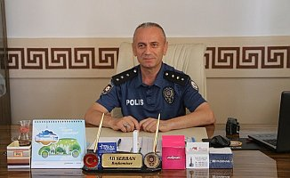 Mut Emniyet Müdür Vekili Ali Serban görevine başladı