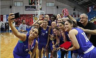 Özgecan Kadınlar Basketbol Turnuvası'nın kazananı Ormanspor