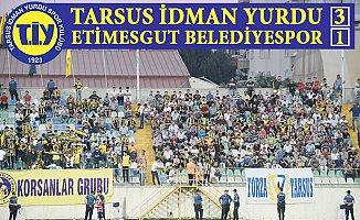 Tarsus İdman Yurdu, Etimesgut Belediyespor  3-1 Yendi.