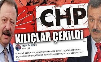 CHP Mersin'de Ön Seçim Talebi Gözler İl Başkanında