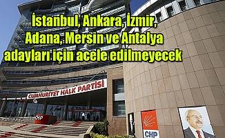 CHP'nin Mersin Adayı Daha Bekleyecek Gibi...
