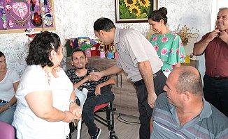 Kaymakam Taşdan Engelli Ailelerin Sorunlarını Dinledi