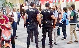 Mersin'de 10 Ekim Gözaltısı