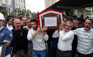 Mersin'de Kalp Krizi Geçirerek Şehit Olan Özel Harekatçı Son Yolculuğuna Uğurlandı