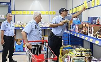 Mersin'de Etiket Denetimleri Sürüyor