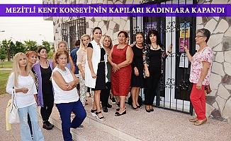 Mezitli Kent Konseyinde Kadınlar Kapıda Kaldı
