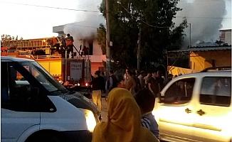 2 Katlı Evdeki Yangın Panik Yaşattı