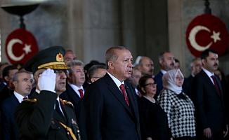 Devletin Zirvesi Anıtkabir'de... İşte Erdoğan'ın Mesajı