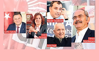 İşte CHP'de Açıklanacak Başkanlar